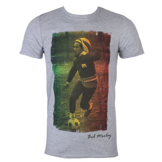 t-shirt metal men's Bob Marley - Rasta Football - ROCK OFF, ROCK OFF, Bob Marley