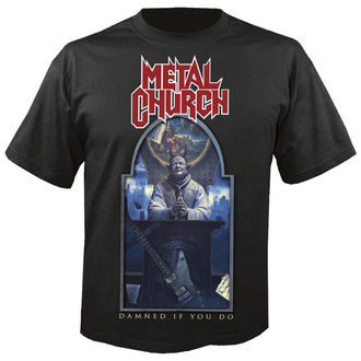 t-shirt metal men's Metal Church - Damned if you do - NUCLEAR BLAST, NUCLEAR BLAST, Metal Church