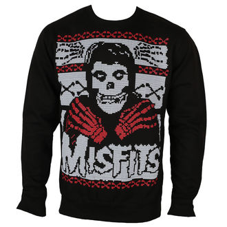 sweatshirt (no hood) men's Misfits - SKELETON - PLASTIC HEAD, PLASTIC HEAD, Misfits