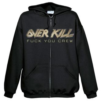 hoodie men's Overkill - Fuck you crew - NUCLEAR BLAST, NUCLEAR BLAST, Overkill