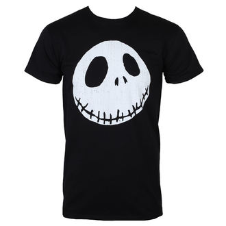 film t-shirt men's Nightmare Before Christmas - CRACKED FACE - NIGHTMARE BEFORE CHRISTMAS, NIGHTMARE BEFORE CHRISTMAS, Nightmare Before Christmas