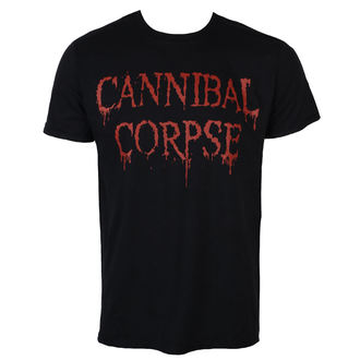 t-shirt metal men's Cannibal Corpse - DRIPPING LOGO - PLASTIC HEAD, PLASTIC HEAD, Cannibal Corpse