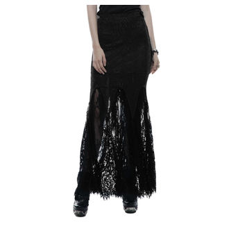Women's Skirt PUNK RAVE - Opium - black, PUNK RAVE