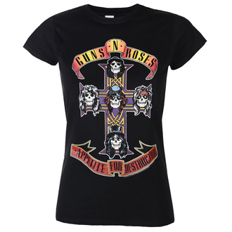 t-shirt women Guns N' Roses - Appetite For Destruction - ROCK OFF, ROCK OFF, Guns N' Roses