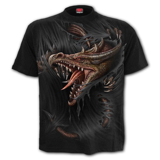 t-shirt men's - BREAKING OUT - SPIRAL - T171M101