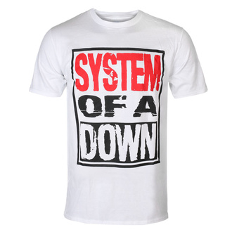 Men's t-shirt System Of A Down - Triple Stack - WHT - ROCK OFF - SOADTS12MW