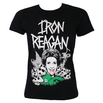 t-shirt metal women's Iron Reagan - NANCY - Just Say Rock, Just Say Rock, Iron Reagan