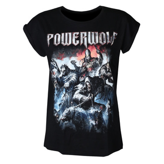 Women's t-shirt POWERWOLF - Best of the blessed - NUCLEAR BLAST, NUCLEAR BLAST, Powerwolf