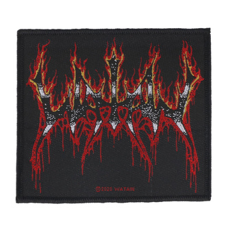Patch Watain - Flaming Logo - RAZAMATAZ, RAZAMATAZ, Watain