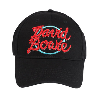 Cap David Bowie - 1978 World Tour Logo - ROCK OFF, ROCK OFF, David Bowie