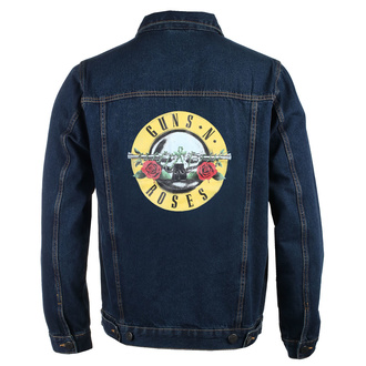 Men's jacket Guns N' Roses - Classic Logo - DENIM - ROCK OFF, ROCK OFF, Guns N' Roses