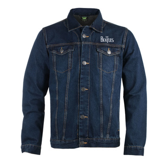 Men's jacket Beatles - Drum Logo - DENIM - ROCK OFF, ROCK OFF, Beatles
