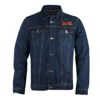 Men's jacket AC/DC - About To Rock - DENIM - ROCK OFF, ROCK OFF, AC-DC