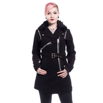 Women's Coat POIZEN INDUSTRIES - ENDORA - BLACK - POI483