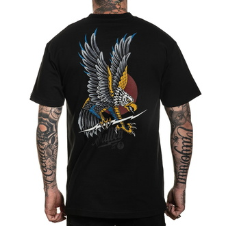 Men's t-shirt SULLEN - SCREAMING EAGLE - BLACK, SULLEN
