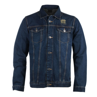 Men's jacket Queen - Classic - DENIM - ROCK OFF, ROCK OFF, Queen