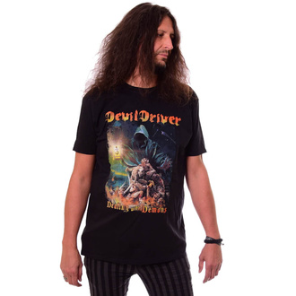 Men's t-shirt DEVILDRIVER - Dealing With Demons - NAPALM RECORDS, NAPALM RECORDS, Devildriver