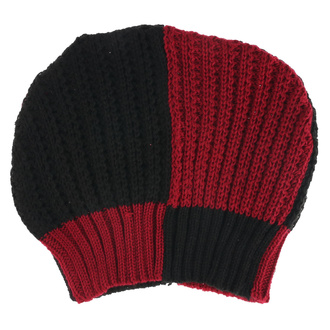 Beanie HEARTLESS - PITCH HATE - RED / BLACK, HEARTLESS
