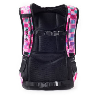 backpack MEATFLY - Exile - F Cross Pink / Black, MEATFLY