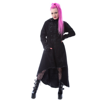 Women's coat CHEMICAL BLACK - BLUEBELL - BLACK - POI1003