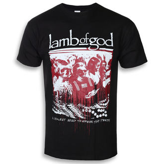 t-shirt metal men's Lamb of God - Enough Is Enough - ROCK OFF, ROCK OFF, Lamb of God