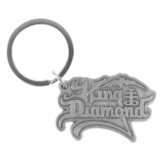 Key ring (pendant) King Diamond - Logo - RAZAMATAZ, RAZAMATAZ, King Diamond