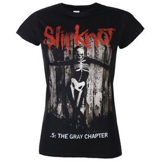 Women's t-shirt Slipknot - The Gray - Chapter Album - ROCK OFF, ROCK OFF, Slipknot