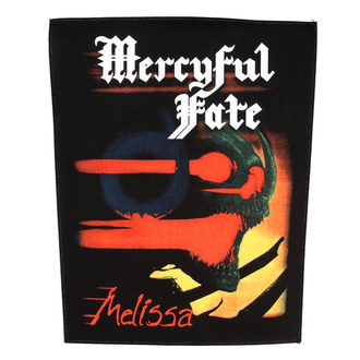 Large patch Mercyful Fate - Melissa - RAZAMATAZ, RAZAMATAZ, Mercyful Fate