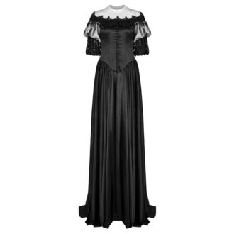 Women's dress (wedding, ball gown) PUNK RAVE - Black Ruby Gothic, PUNK RAVE