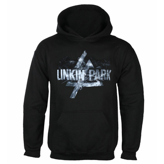 Men's hoodie LINKIN PARK - SMOKE LOGO - PLASTIC HEAD - PHD12076HSW