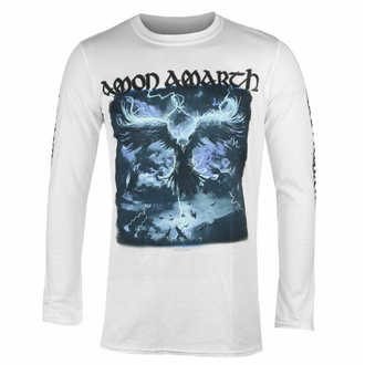 Men's t-shirt with long sleeves AMON AMARTH - RAVEN'S FLIGHT - WHITE - PLASTIC HEAD - PH12123LS