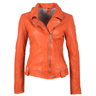 Women's (biker) jacket  GGFavour LAMAXV Orange, NNM