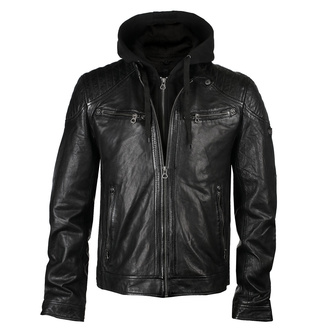 Men's (biker) jacket GBGorey 2 LASANV - Black, NNM