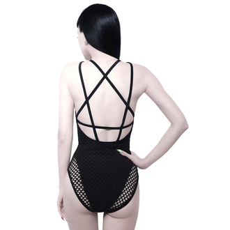 Women's swimsuit/ monokini KILLSTAR - Goddess - BLACK, KILLSTAR