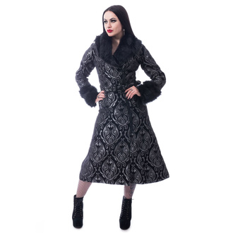 Women's coat POIZEN INDUSTRIES - GRAVE - GREY, POIZEN INDUSTRIES
