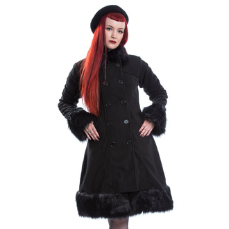 Women's coat POIZEN INDUSTRIES - HARRIET - BLACK - POI967
