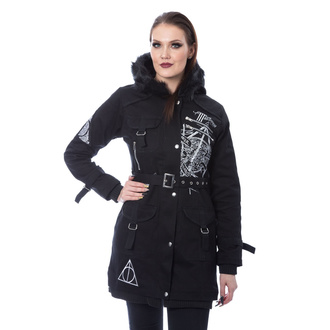 women's HARRY POTTER jacket - HALLOWS - BLACK, NNM