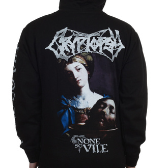 hoodie men's Cryptopsy - None So Vile - INDIEMERCH, INDIEMERCH, Cryptopsy