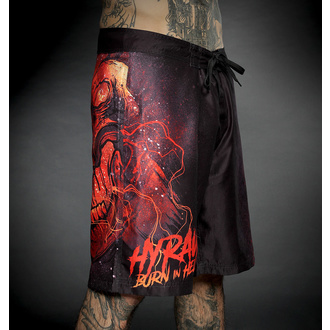 Men's swimwear (shorts) HYRAW - BURN IN HELL, HYRAW