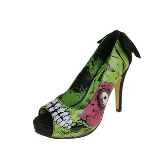 high heels women's - Zombie Stomper Platform - IRON FIST - IFW0005227-Green