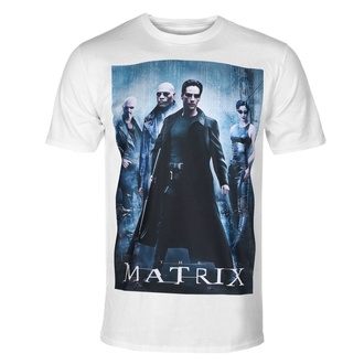 Men's t-shirt The Matrix - Poster - White - HYBRIS - WB-1-MTRX006-SUB-WH