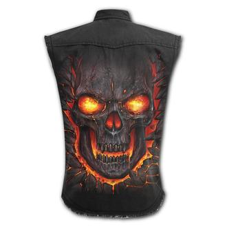 Men's sleeveless shirt/ vest SPIRAL - SKULL LAVA, SPIRAL