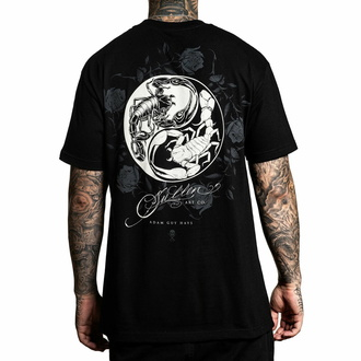 Men's t-shirt SULLEN - PAINFUL BALANCE - BLACK, SULLEN