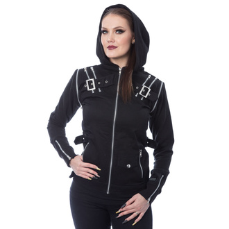 women's jacket Innocent Clothing - JEZEBEL - BLACK - POI936