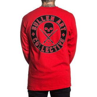 Men's shirt with a long sleeve SULLEN - BOH - RED, SULLEN