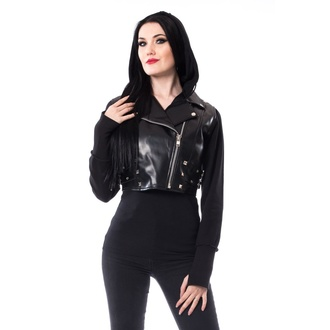 women's jacket HEARTLESS - JOHANNA - BLACK - POI939