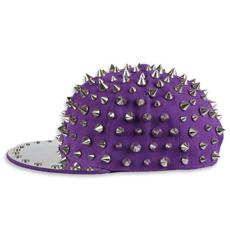 Cap Cupcake Cult - FULL SPIKE - PURPLE / SILVER, CUPCAKE CULT