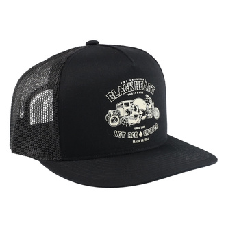Cap BLACK HEART - REVELATION - BLACK, BLACK HEART