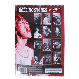 calendar to year 2010 - Rolling Stones