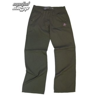 pants women HEAVY TOOLS - FEE - KHAKI
